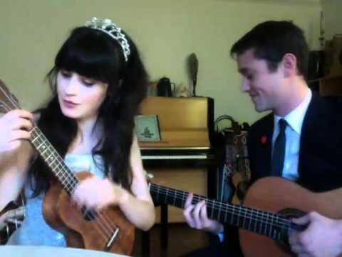VCK | Zooey Deschanel & Joseph Gordon-Levitt | What Are You Doing New Years Eve? | HelloGiggles