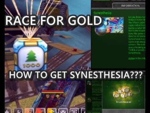 Race For Gold Part 7 - HOW TO GET SYNESTHESIA???