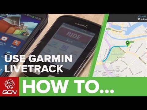 How To Set Up + Use Garmin LiveTrack