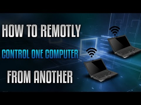 HOW TO REMOTELY CONTROL ANOTHER COMPUTER ON THE SAME NETWORK - HACK