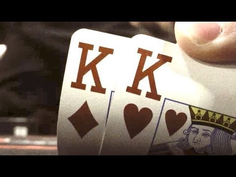 Pocket Kings And We're Going For It On The River! Poker Vlog Ep 61