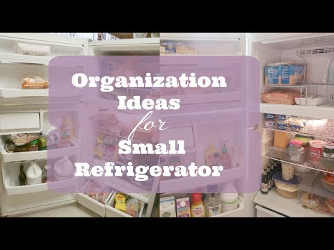 HOW TO DECLUTTER &  ORGANIZE YOUR FRIDGE // HOME ORGANIZATION: ORGANIZATION&DECLUTTER WITH KAT