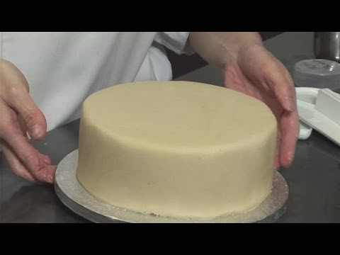 How To Marzipan A Cake