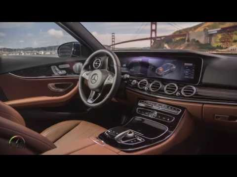 2017 Mercedes-Benz E Class interior design and 64-color ambient lighting