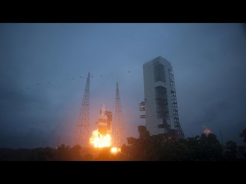 NASA launches new Orion spacecraft - no comment