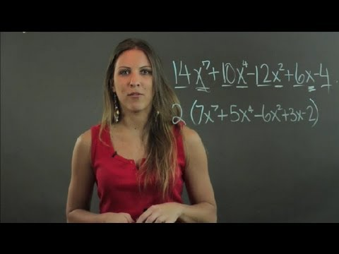 How to Factor a Polynomial With 5 Terms : Lessons in Math