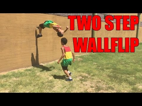 Tutorial: How To Do A Two Step WallFlip