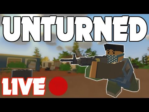 [Archived] Unturned PUBG LIVE! (2,300 SUBS!)