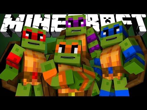 Minecraft | SUPERHERO ROYAL RUMBLE - Teenage Mutant Ninja Turtles! w/ LittleLizardGaming