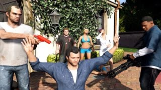 GTA 5 Franklin Has Sex With Tracey And Tracey Kills Franklin