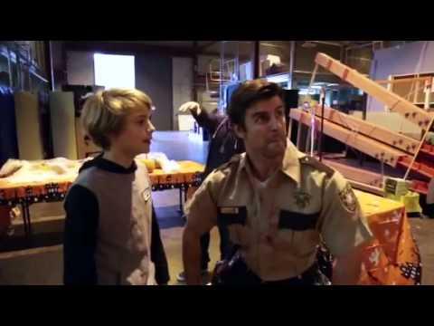 Cooper Barnes & Jace Norman Walking Dead