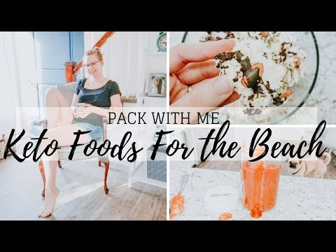 KETO ON THE GO | Keto Foods To Bring On Vacation | Pack With Me
