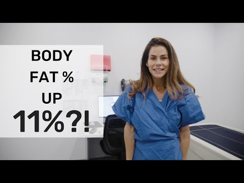 I gained 11% body fat before comp?! | DXA scan | Sophie Guidolin