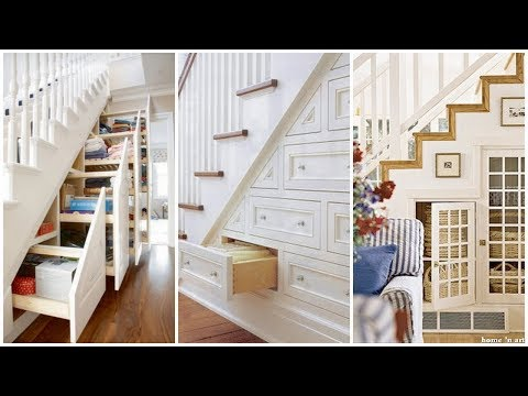 60 CREATIVE IDEAS TO USE SMALL SPACE UNDER THE STAIRS