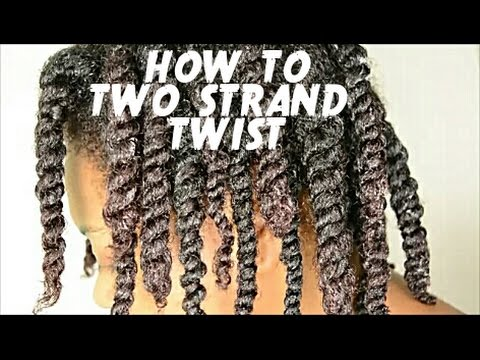 TWO STRAND TWIST TUTORIAL on NATURAL HAIR  - TWO WAYS! | BEGINNER FRIENDLY | THE CURLY CLOSET