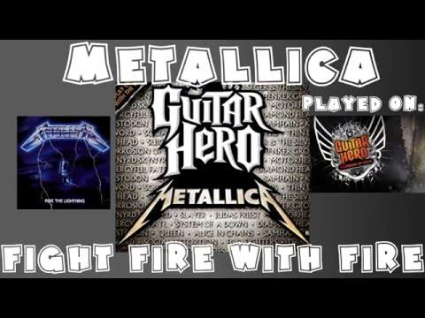 Metallica - Fight Fire with Fire - Guitar Hero Metallica Expert + Full Band