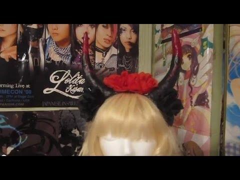 Flower Horn Headband Tutorial (Cosplay, Pastel Goth, ect.)