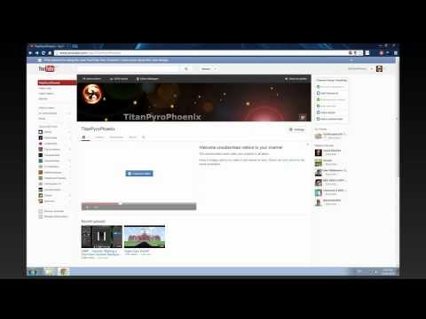 GIMP - Tutorial: Making a YouTube Channel BANNER [2013]