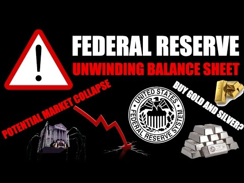 Federal Reserve UNWINDING BALANCE SHEET – What This Means For Markets, Price Of Gold & Silver
