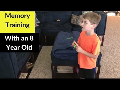 Memory Training with 8 yr old  // How to memorize