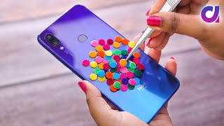 8 Fun and Useful Phone hacks | Mobile cover at Home | Artkala