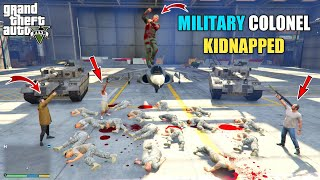 GTA 5 : MICHAEL KIDNAPPED MILITARY COLONEL    BB GAMING