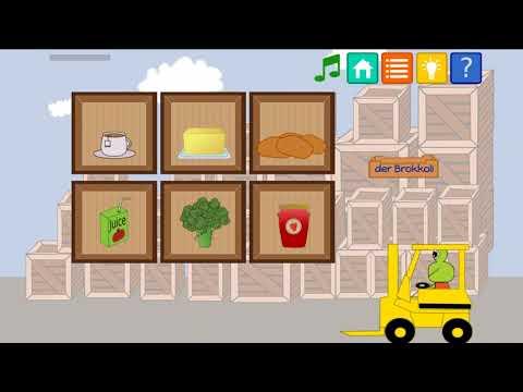 Kids friendly language learning Educational App - Froshii Bilingofun