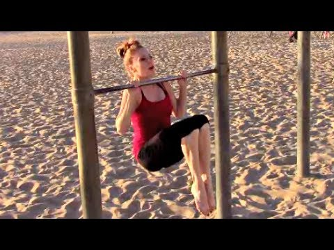 Gymnastics Bar Workout Exercise Routine With Coach Meggin!