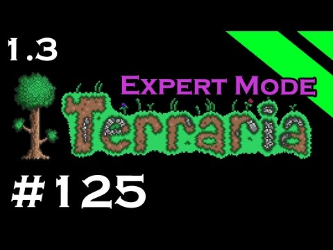 Let's Play Terraria 1.3 Expert Mode - Episode 125 - Plantera Bulbs