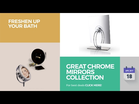 Great Chrome Mirrors Collection Freshen Up Your Bath