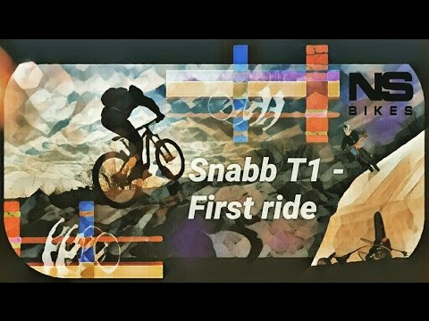 NS Snabb T1 - First ride | Winter MTB Session