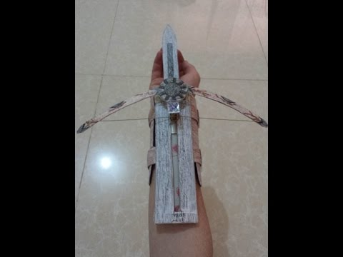 how to make phantom blade (Tutorial ) from assassin's creed unity