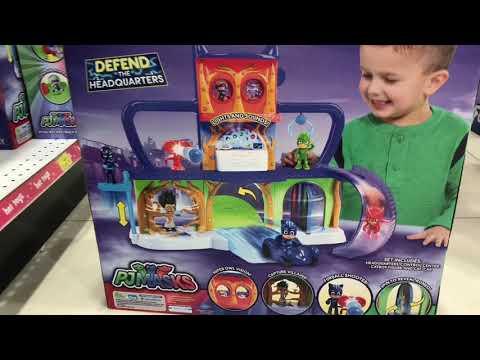 Toys'R'Us PJ Masks / Catboy / Owlette / Gekko