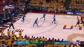 1st Quarter, One Box Video: Utah Jazz vs. Oklahoma City Thunder