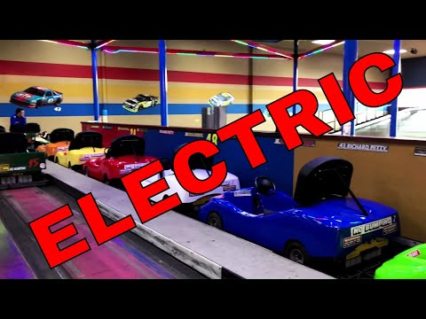 ELECTRIC Go Karts Awesome! Clean Family Fun!