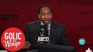 Stephen A. Smith's top 5 NBA players of all-time   Golic and Wingo   ESPN