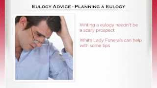 White Lady Funerals Advice On Planning A Eulogy