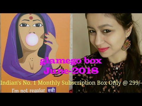 I am not Regular स्त्री    Glamego Box June- 2018