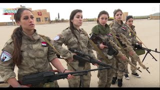 """Syrian Christian girls defend their town from Western backed """"moderate rebels"""""""