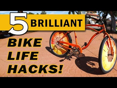 5 Brilliant Bike Life Hacks!