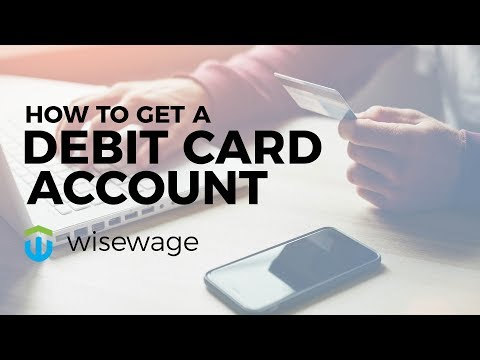 Learn How to Get a Debit Card Account. Avoid Check Cashing Fees via Direct Deposit