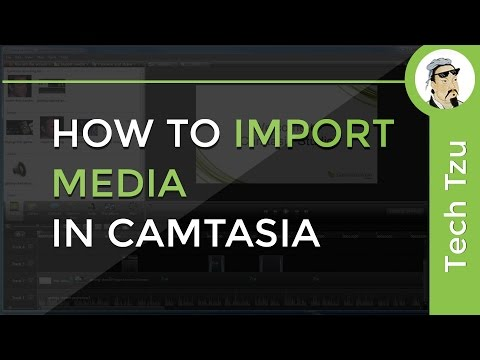 How To Import Media In Camtasia
