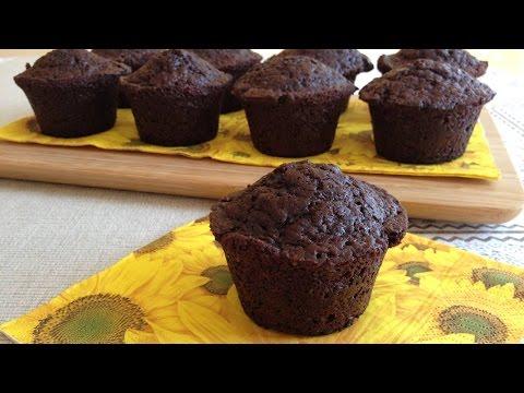 Muffins de Chocolate con Pepitas de Chocolate