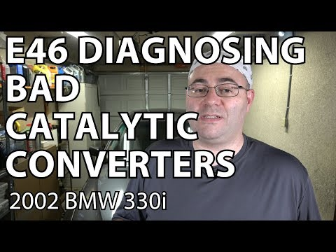 BMW E46 How To Diagnose a Bad Catalytic Converter P0420/P0430