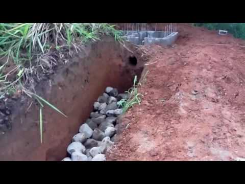Handmade low cost septic system