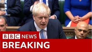 Boris Johnson makes first Commons statement as PM - BBC News
