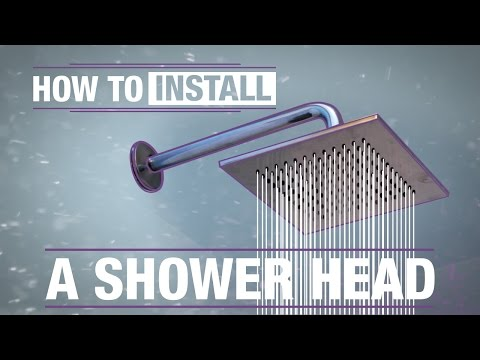 How To: Replace a Shower Head