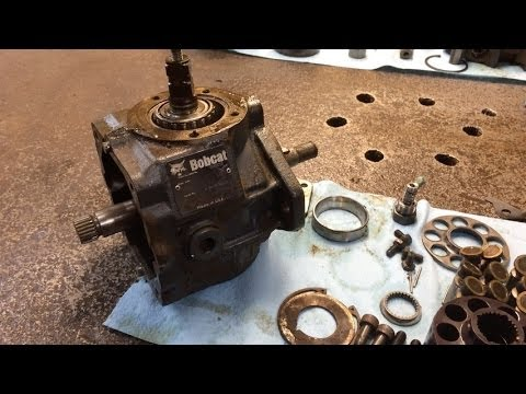 Bobcat Hydraulic Pump Motor Repair or Replacement