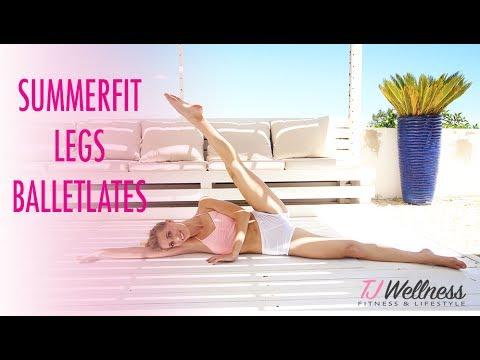 Summerfit Legs   How to stay fit through summer   Balletlates   Ballet workout   Pilates workout