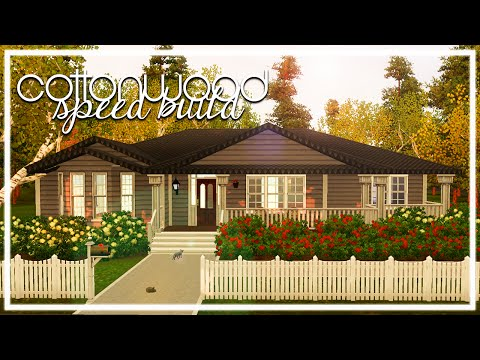 COTTONWOOD // The Sims 3: Speed Build